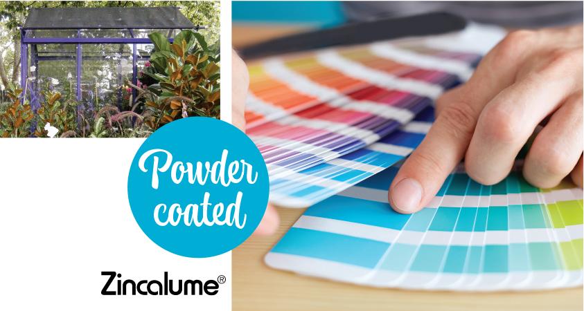 Christie glasshouses garden sheds - a wide range of colours