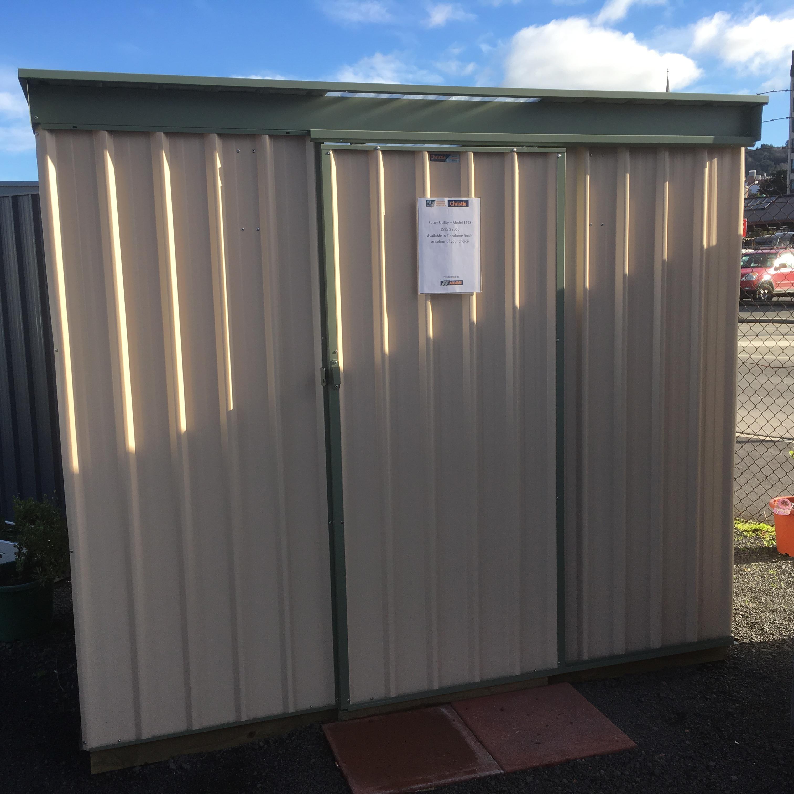 Christie quality garden sheds - utility sheds